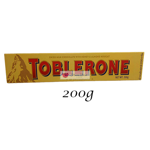 Toblerone Milk Chocolate candy 200g