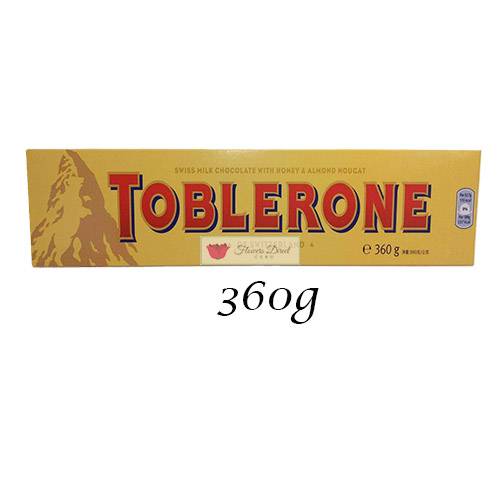 Toblerone Milk Chocolate candy 360g