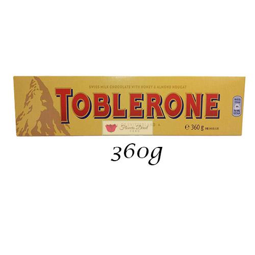 Toblerone Milk Chocolate candy 360g