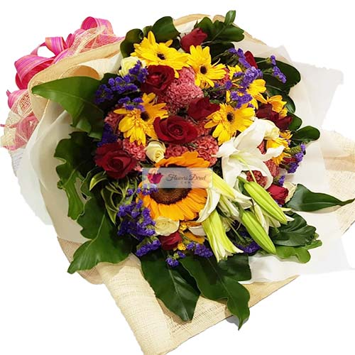Affordable Flower Cebu is a nice mix of flowers for any occasion.
