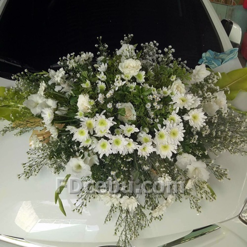 Car Wedding Flowers Cebu