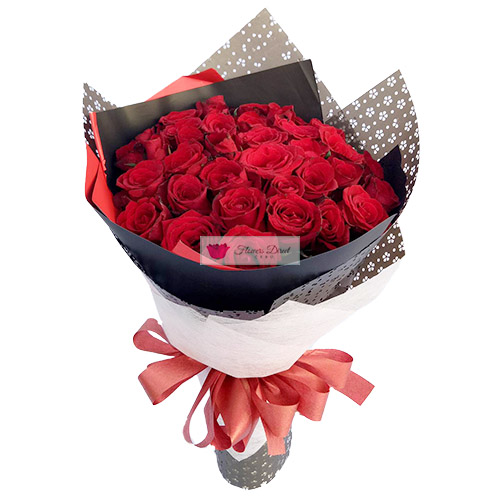 anniversary idea cebu 3 dozen red roses
