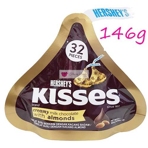hersheys kisses almound