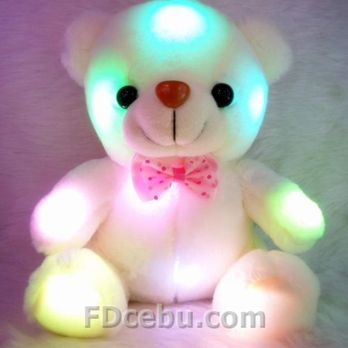Light up small Teddy Bear 8""