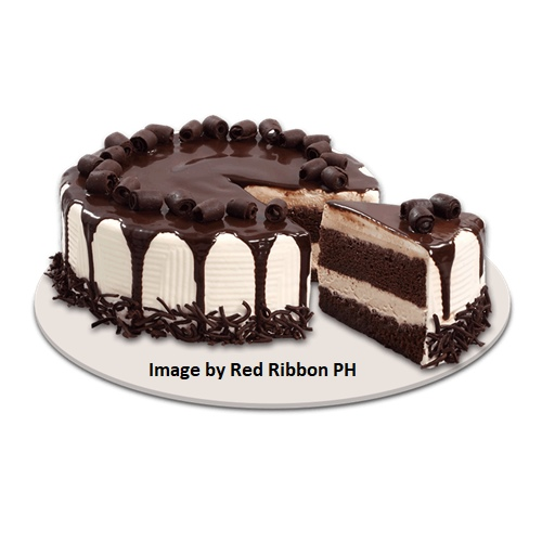 Tiramisu Cebu Cake Delivery Meltdown Actual size of product varies from image. A heavenly two-layer Tiramisu cake of choco chiffon and cream cheese filling with a hint of coffee liquor. From Famous Red Ribbon Tiramisu Cebu Cake Delivery
