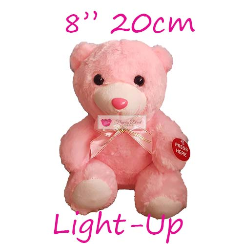 small teddy bear pink fdcebu