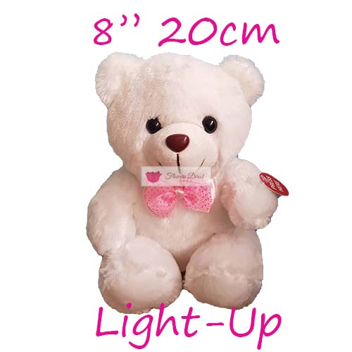small teddy bear white fdcebu