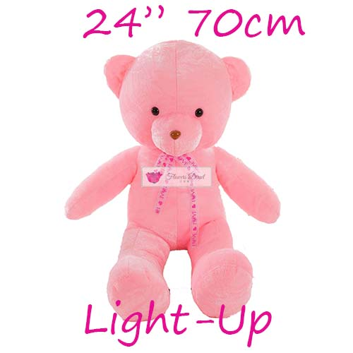 "Stuffed Teddy Bear Cebu 24"" Light-up. Stuffed Teddy Bear Cebu Similar products that are also available; 8"", 12"" and 18""."