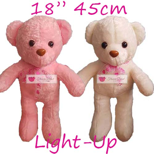 "Teddy Bear Delivery Cebu 18"" Light-Up. Teddy Bear Similar products that are also available; 8"", 12"" and 24"". Teddy Bear Delivery Cebu choose white or pink"