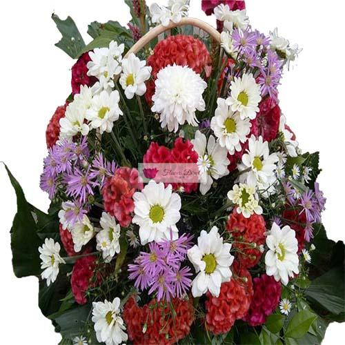 Sympathy flower cebu 3