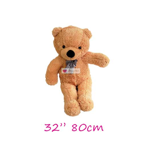 giant teddy bear 32 inches 3 feet brown stuffed teddy bear cebu human size
