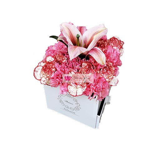 Carnation Lilium Box Cebu