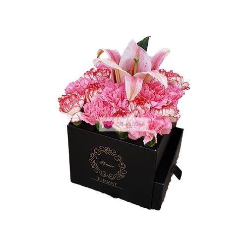 Carnations Lilium Box Cebu