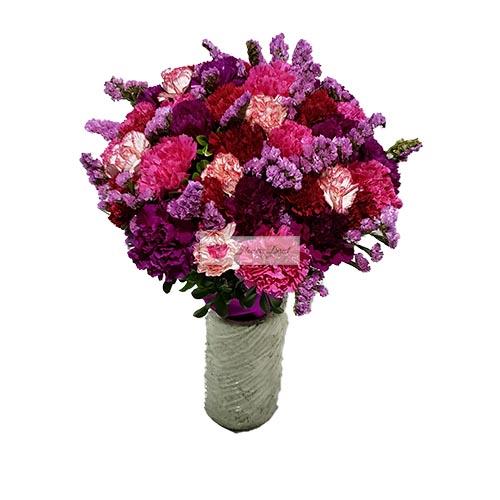 Purple Flower Bouquet Cebu