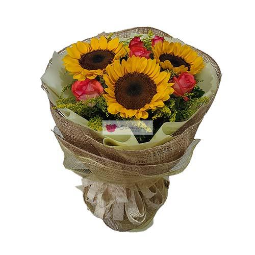 Sunflower and rose Cebu